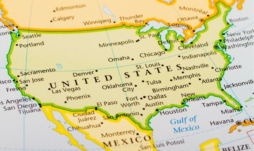 Top 10 States to Find Jobs in the USA
